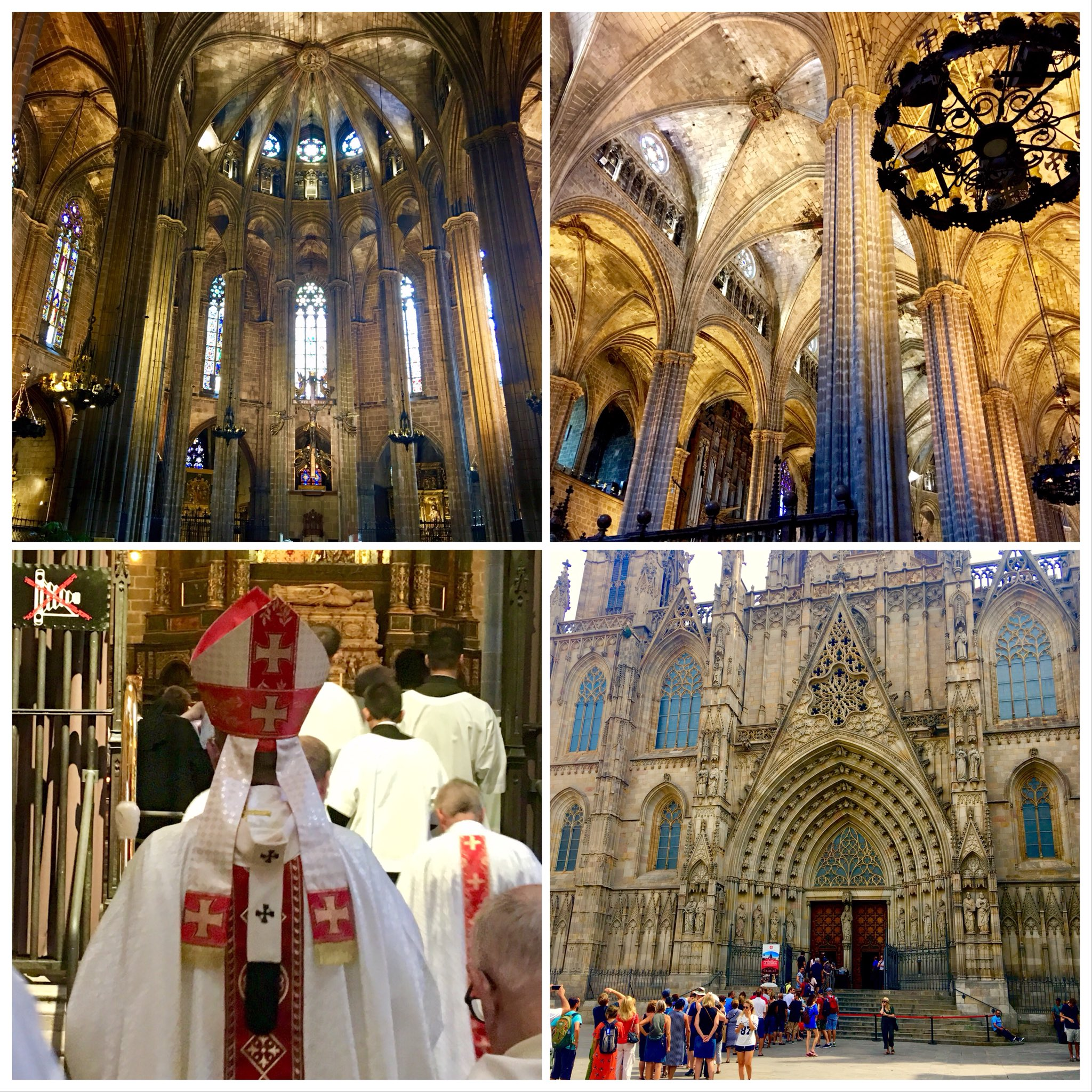 Odyssey Spain 2018, Barcelona Cathedral, Gothic architecture constructed from the 13th to 15th centuries. https://t.co/hiENXrWakv