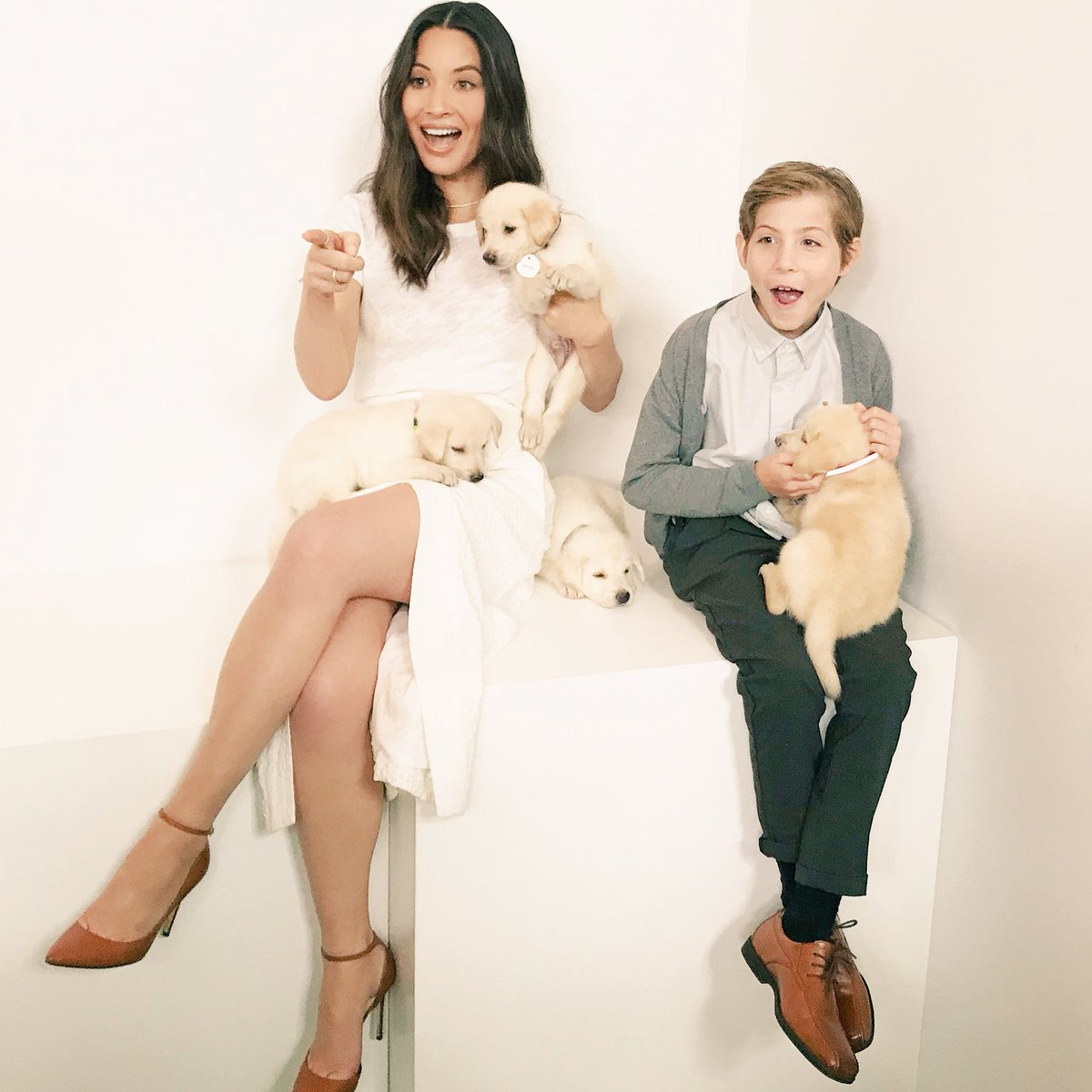 Thank God for @JacobTremblay and puppies ❤️???????????????????? https://t.co/wFRPJcWxhs