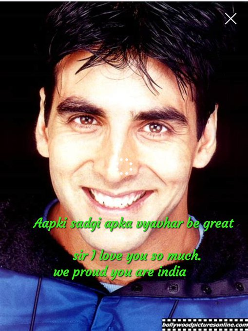 Heart king & World king The Super Star Akshay kumar sir happy birthday to you and love you so much
