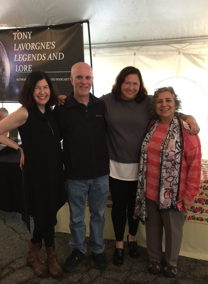test Twitter Media - Great to be with author friends at the Beaver County BookFest featuring 50+ authors and volumes of visitors and book lovers who were undaunted by the rain! From left to right next to me is Josh Bellin, Kathleen Shoop, and Madhu Bazaz Wangu. #beavercountybookfest https://t.co/Adb7OskMkM