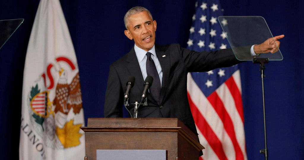 Obama's full speech on the state of American democracy