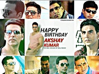 Wish u a very very Happy birthday Akshay Kumar sir God bless u and you live long