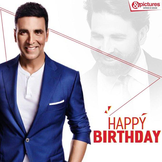 Wishing the Khiladi of Bollywood, Akshay Kumar a very happy birthday.