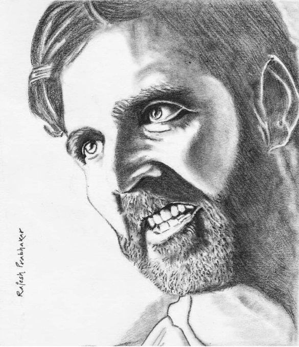 My Sketch :. Akshay Kumar. Wishing u a very Happy Birthday !!