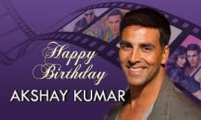 Happy birthday Khiladi Akshay Kumar.... Love you