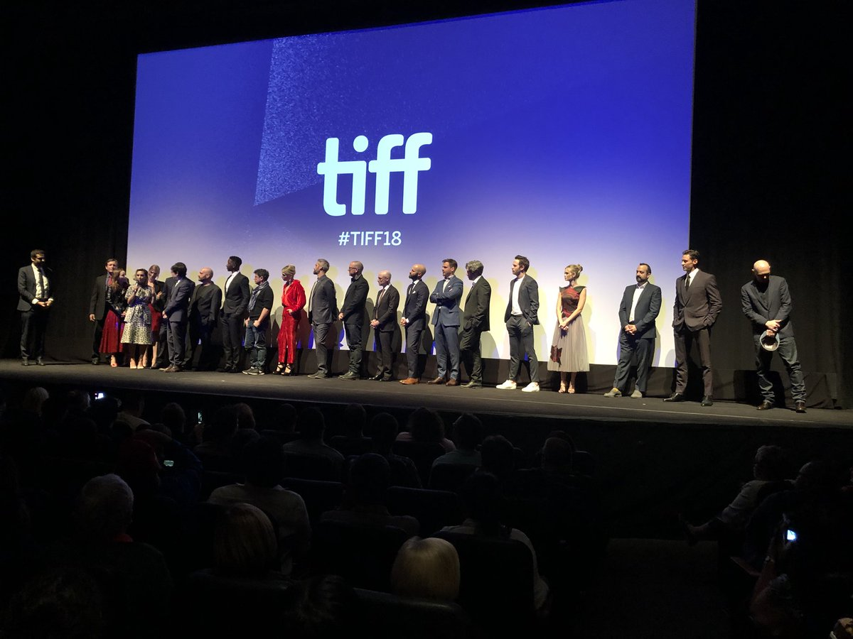 The whole lot of us!!! @TIFF_NET #TheFrontRunner #TIFF2018 https://t.co/2tCx7FF4cl