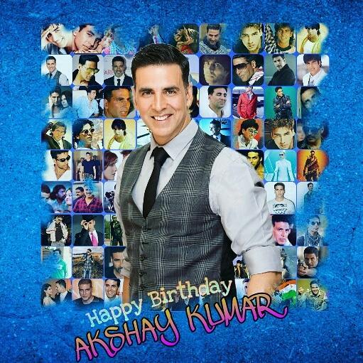 Happy birthday akshay kumar ji.......
