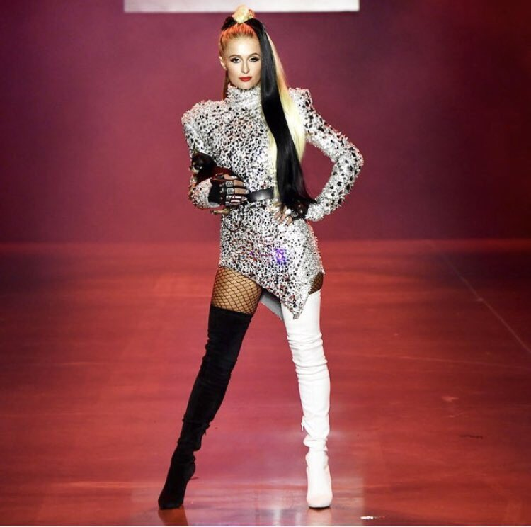 Slaying the @TheBlondsNY #DisneyVillainsXTheBlonds runway show with @DiamondBaby. https://t.co/F7E7fUoGuB