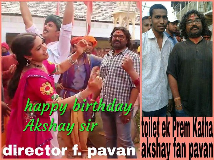 Happy birthday Akshay Kumar sir aap hamare riyal Hiro ho