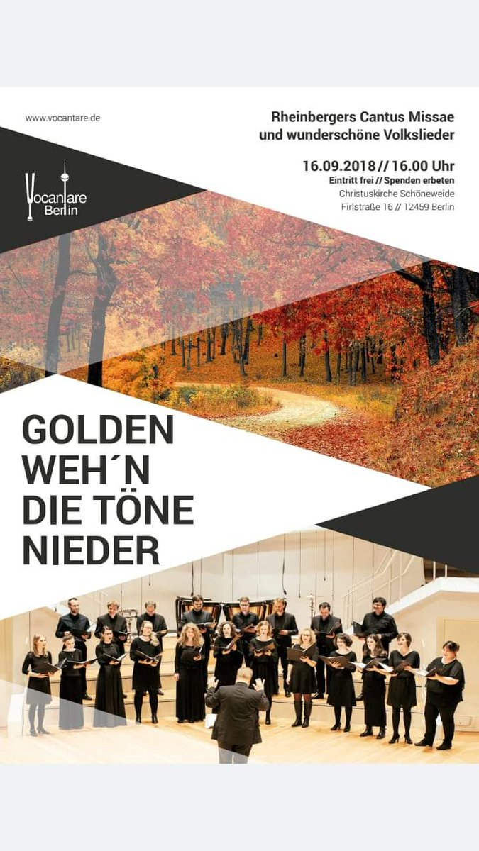 test Twitter Media - Ich freue mich auf das erste Konzert der neuen Saison! In der wunderschönen Christuskirche Oberschöneweide https://t.co/KLNvUgdMMb