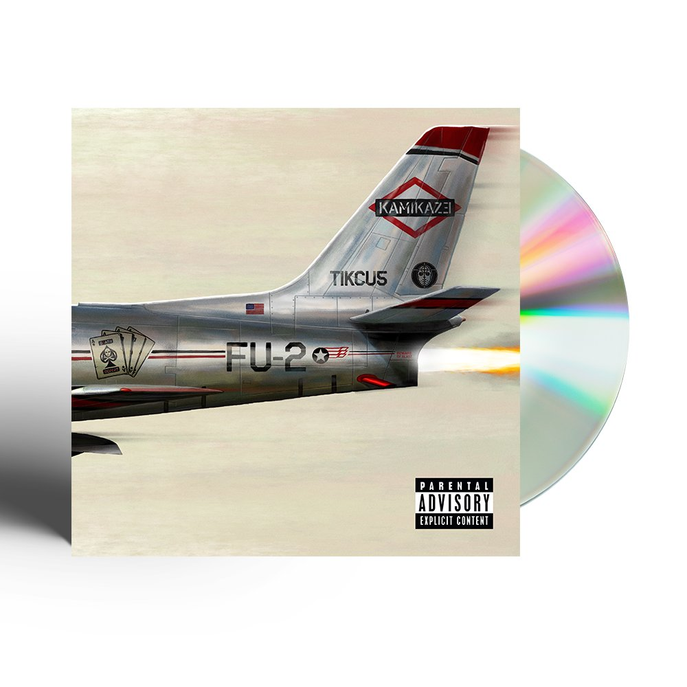 #KAMIKAZE  - physical copies hit stores! Hit the link https://t.co/ANw73KbwMt https://t.co/NkBF5TdtGW