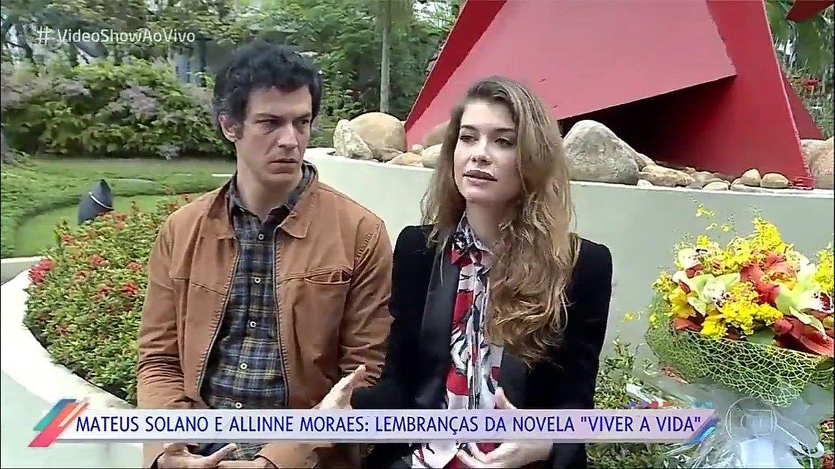 RT @ParadiseNovelas: Alinne Moraes e Mateus Solano relembrando Luciana e Miguel no #VideoShowAoVivo https://t.co/JYWsBbKreh