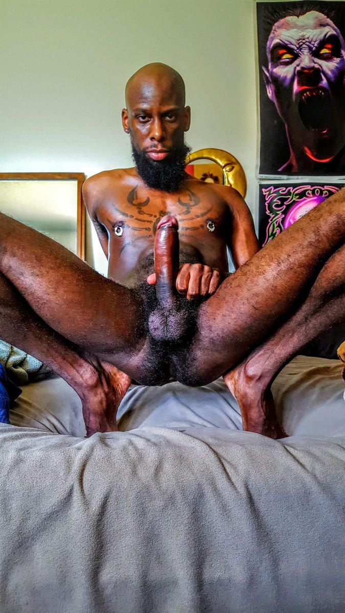 D.N.A. full spread #hairybooty #Dick #nuts #ass #beard #uncut #Scorpio