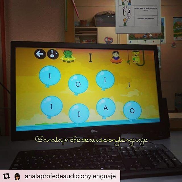 """#Repost @analaprofedeaudicionylenguaje (@get_repost) ・・・ Hoy os enseño la aplicación y juego para ordenador """"Leo con Grin"""" de @educaplanet, creadores de los archiconocidos juegos de Pipo.  Grin es un extraterrestre que va a ayudar a los peques a aprender a leer. Igual que la… https://t.co/6Wlay9kHFU"""