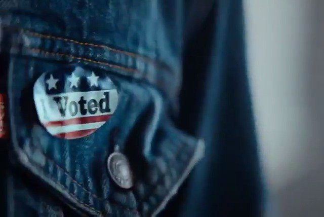 big election comin up make sure y'all register ???????? @levis #RocktheVote #TimeToVote https://t.co/RhhHgsxqsn