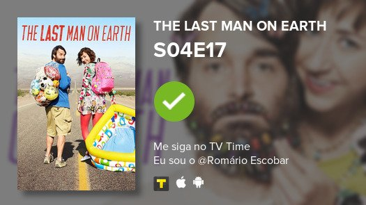 I've just watched episode S04E17 of The Last Man on ...! #lastmanonearth  #tvtime https://t.co/EUsIsYDMMF https://t.co/hD5mrI8ECE