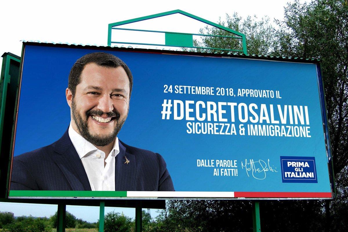 #DecretoSalvini