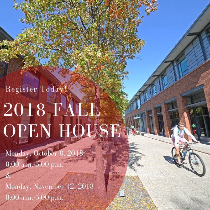 test Twitter Media - Join us for Open House this fall! 🍂 Mon. 10/8 and Mon. 11/12! Come for campus tours, info sessions, special events, and much more! Register online today: https://t.co/LtxZuMxmTs🔴⚫ https://t.co/uEaUPndiMc
