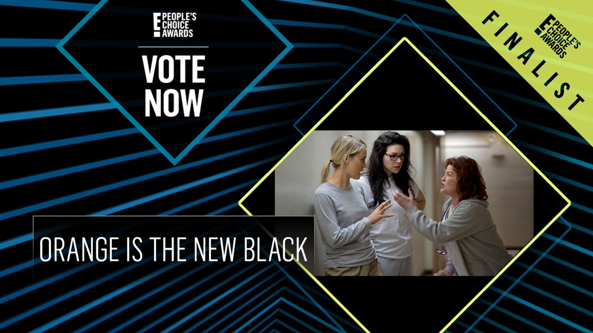 RT @peopleschoice: Vote for Orange Is The New Black by retweeting this post: #OITNB #TheComedyShow #PCAs https://t.co/VdcezisaAS