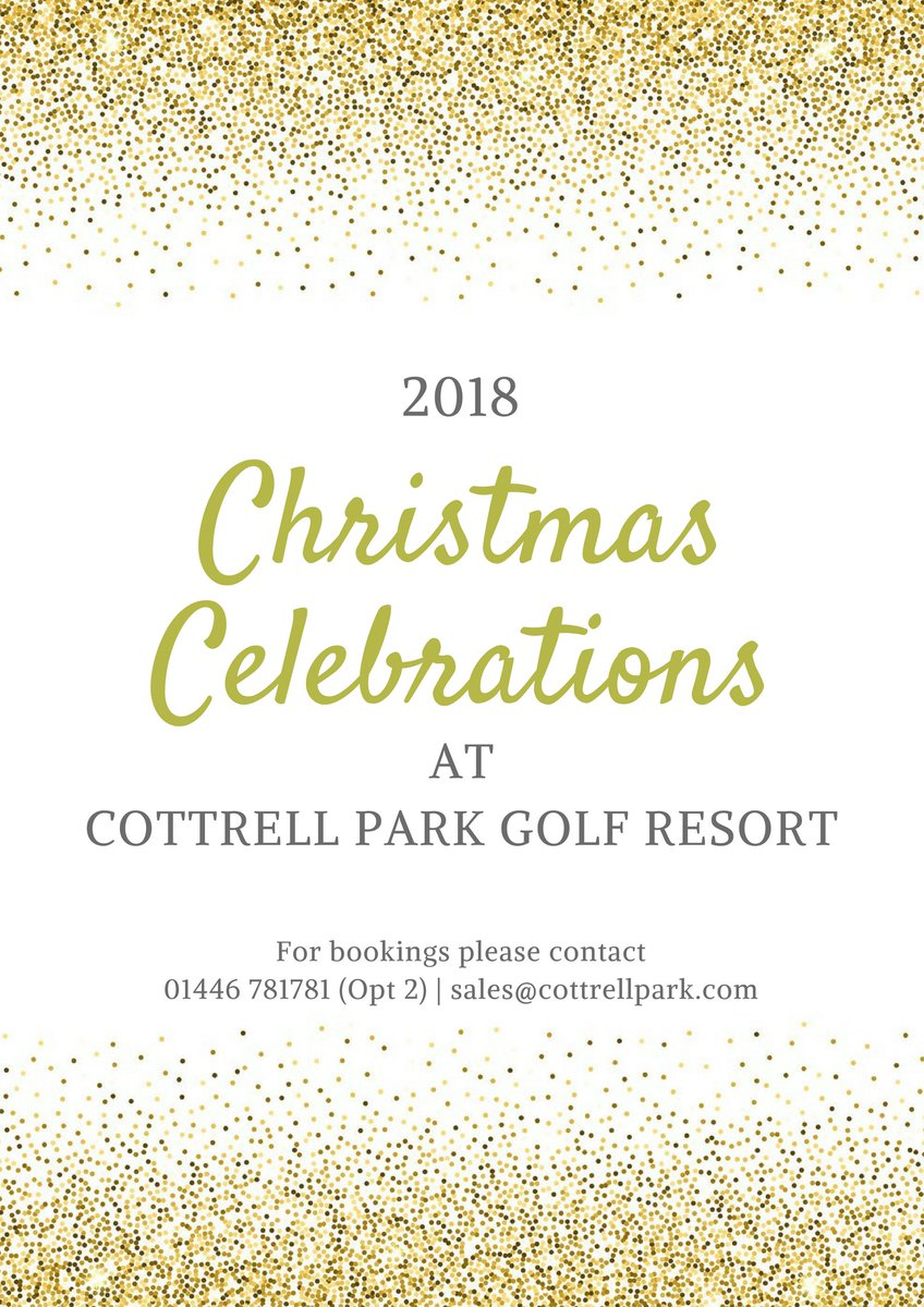 test Twitter Media - October is almost here so why not start planning your perfect Christmas with us at Cottrell Park 🎄🎁  For Christmas Lunches, Christmas Parties or General Enquiries;  T: 01446 781781 Opt2 E: sales@cottrellpark.com  https://t.co/4GCaDUs95t https://t.co/yAvo3dyl3H