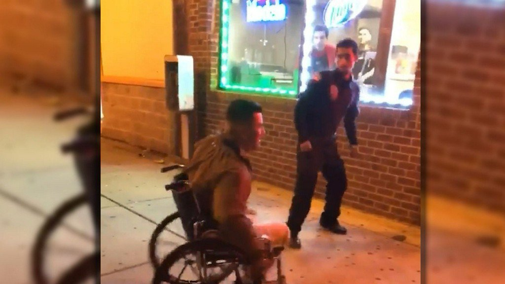 test Twitter Media - Video shows security guards punch, kick wheelchair-bound man https://t.co/Tip5cW0FIJ https://t.co/oJxjChlXQM