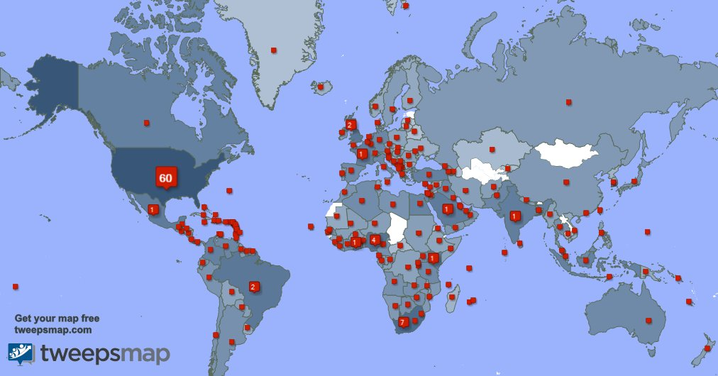 I have 302 new followers from South Africa, Canada, Brazil, and more last week. See 1iqmHvsOay