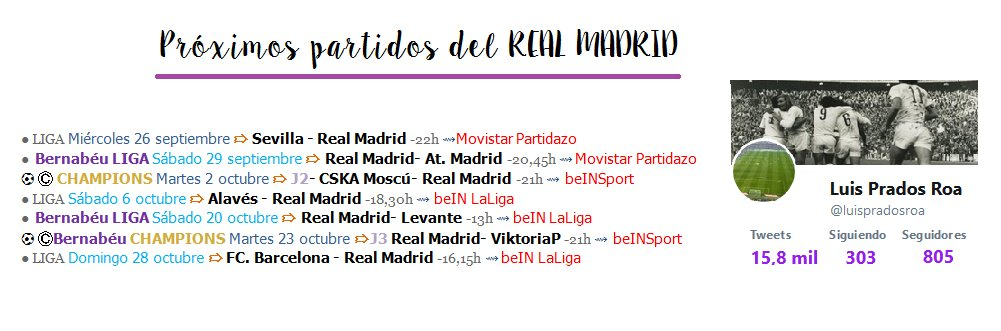test Twitter Media - 📆⌚ #Horarios #RealMadrid | 📺 #televisión https://t.co/NAxkmrQk98