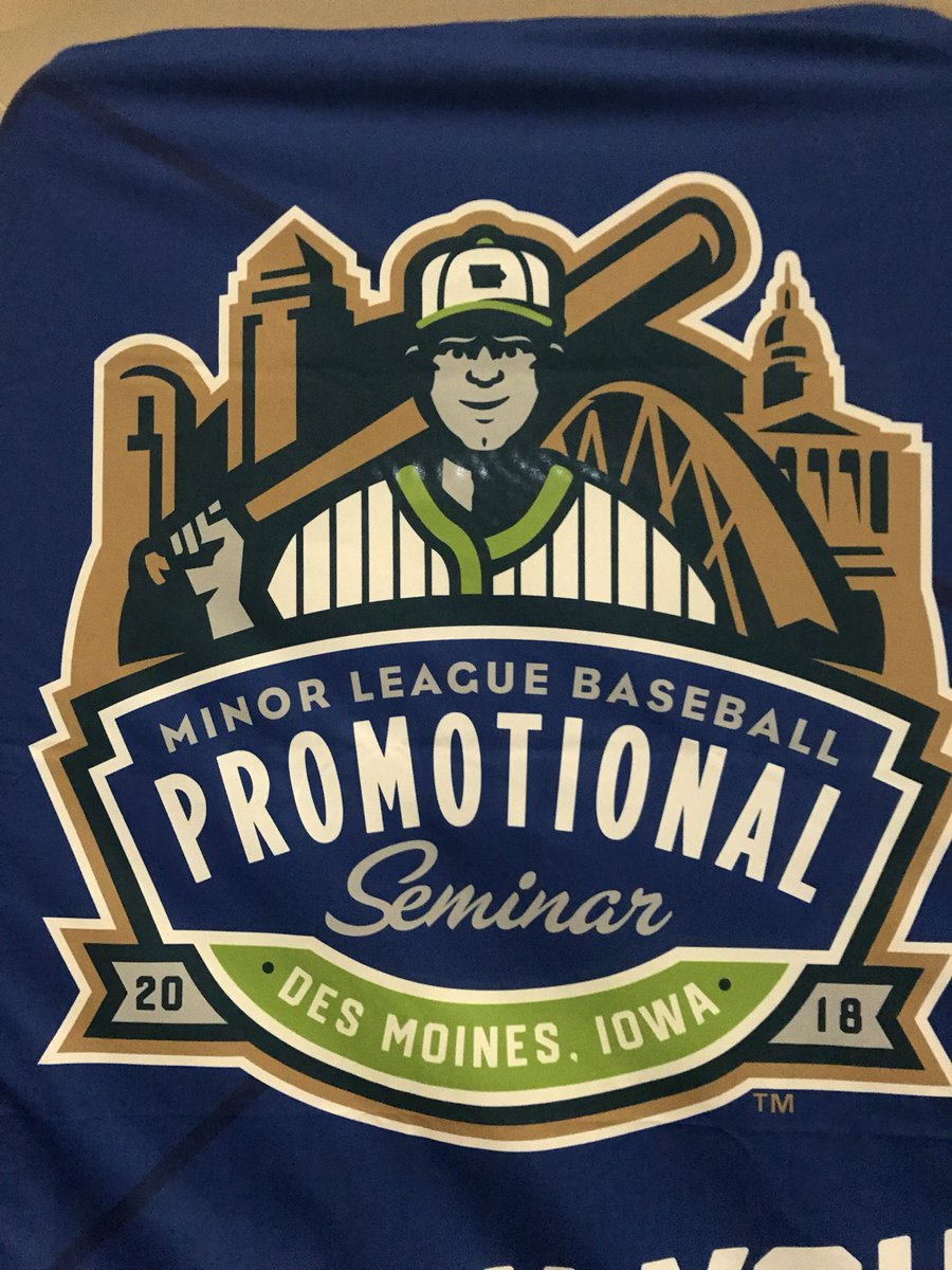 test Twitter Media - Hello from Day 1 of the MiLB @PromoSeminar! https://t.co/oRcbYQyCDc