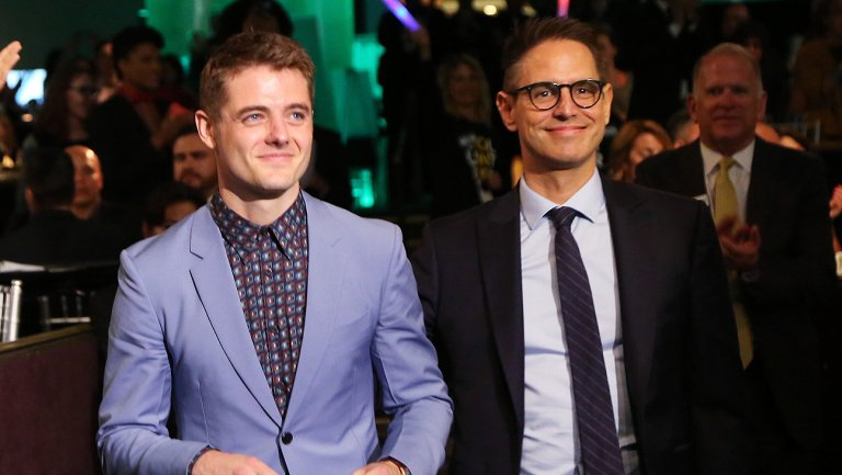 Greg Berlanti, husband Robbie Rogers moved to tears during L.A. LGBT Center Vanguard Awards