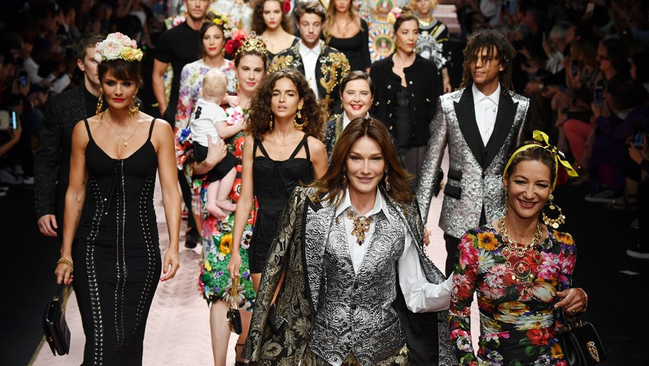 RT @pretareporter: Milan Fashion Week: Dolce & Gabbana's DNA is in the beauty of all women
