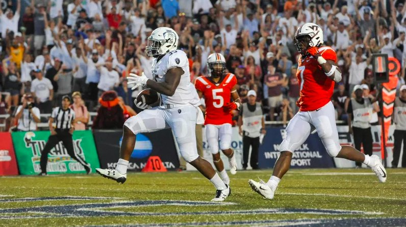 test Twitter Media - For one quarter, Old Dominion's Jeremy Cox was the most exciting back in college football: https://t.co/tuMjyzA7jJ https://t.co/L0S3nkA1Mk