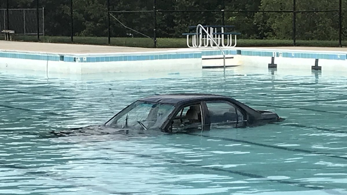 test Twitter Media - Driving lesson ends with car in pool https://t.co/n3pS0Y1QYb https://t.co/v2bhP6MFl1