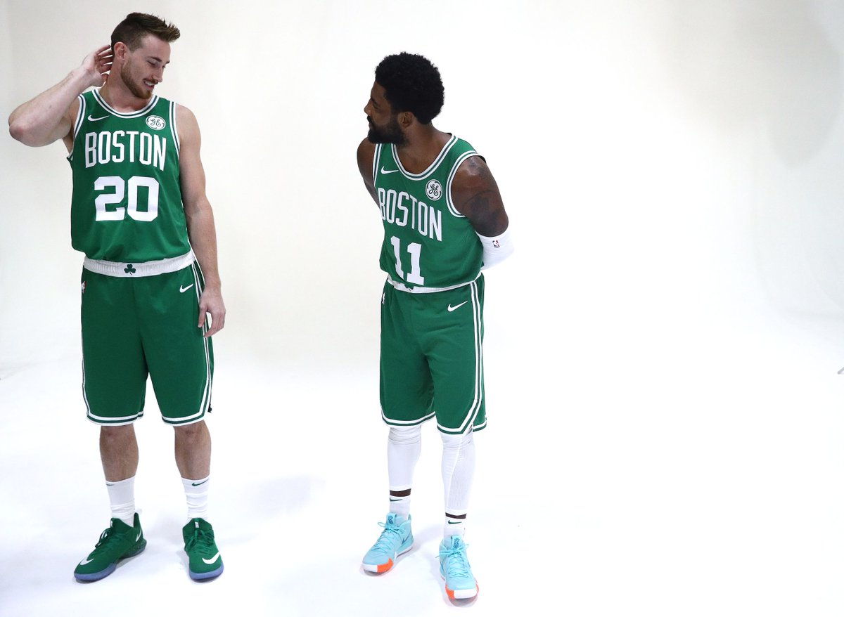 RT @celticsblog: Gordon Hayward and Kyrie Irving are baaaaaack! https://t.co/NPBL7AZDXU https://t.co/RkgTDP98c1