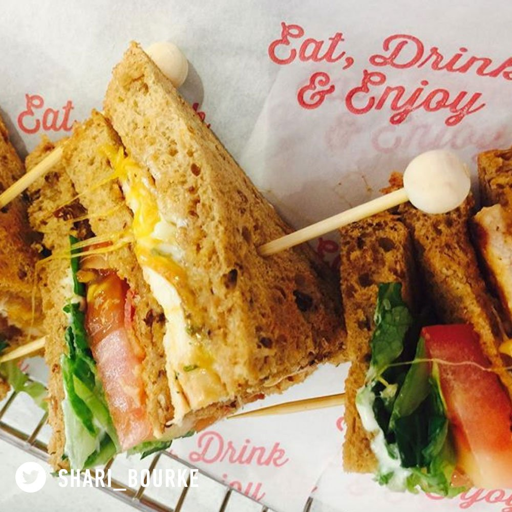 Forgetting your lunch is a great excuse to come to Eddies https://t.co/c4omLlvoOT
