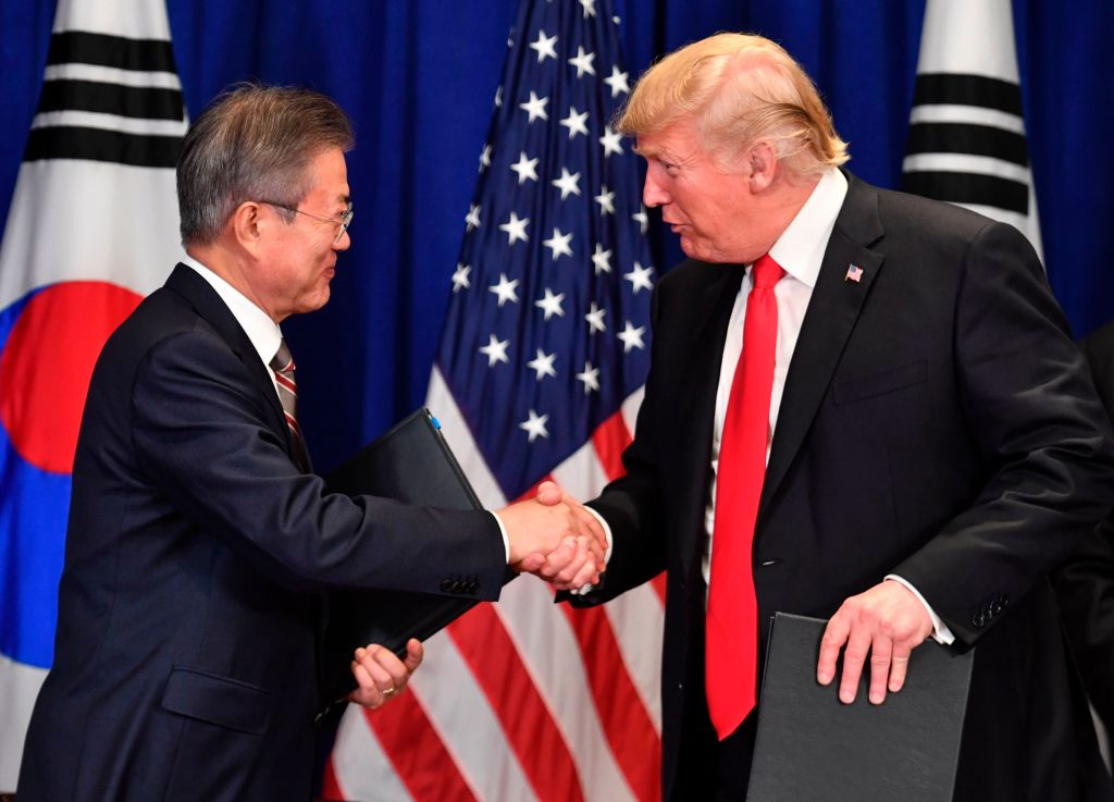 The Us And South Korea Just Signed A Renegotiated Free Trade