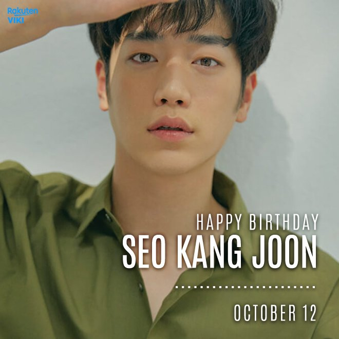 Happy Birthday to Catch up with him on Viki: Viki (Viki) October 11, 2018