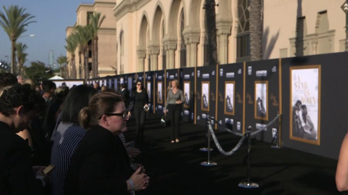 Stay tuned for live coverage from the L.A. premiere of AStarIsBorn at the Shrine Auditorium