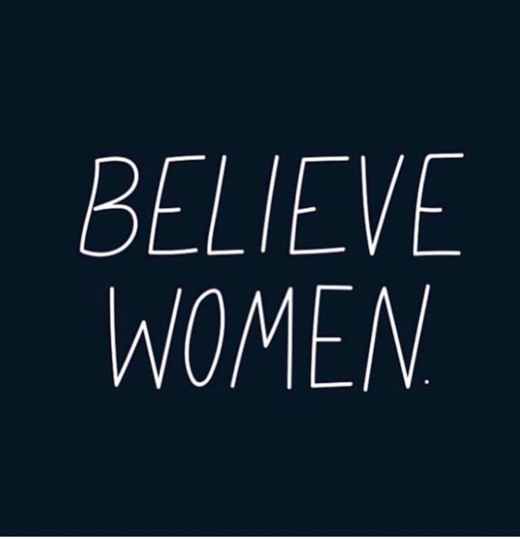???? #BelieveSurvivors #BelieveWomen https://t.co/E1fxJ6N7Xa