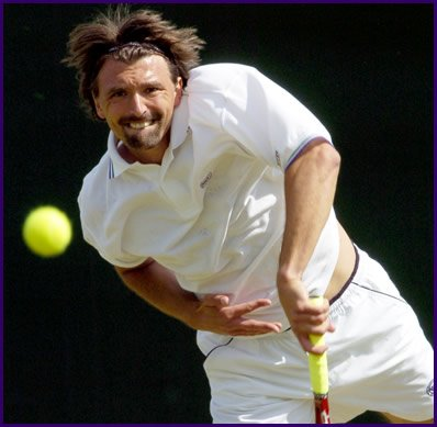 Happy birthday today to Goran Ivanisevic!