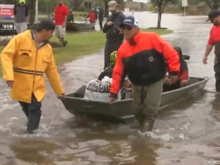 Cajun Navy mobilizes volunteers, boats to Carolinas ahead of Hurricane Florence.
