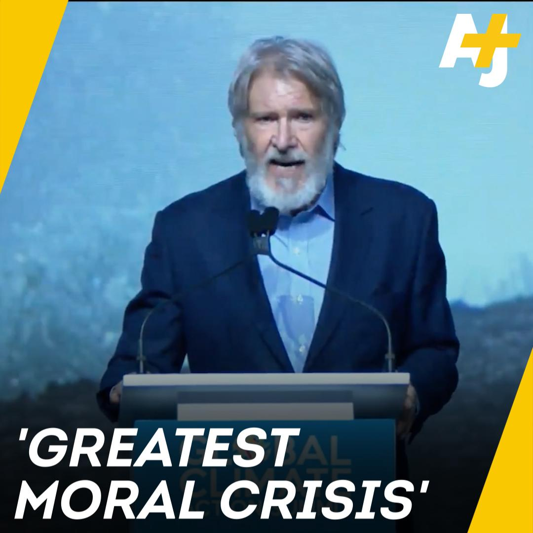 "RT @ajplus: ""Stop giving power to people who don't believe in science."" - Harrison Ford https://t.co/Ywja01Z7Qi"