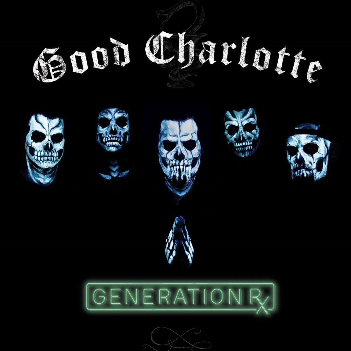 RT @GoodCharlotte: listen to GENERATION Rx on @AppleMusic NOW! https://t.co/vJ3JrRminc https://t.co/rBtFDH16ZI