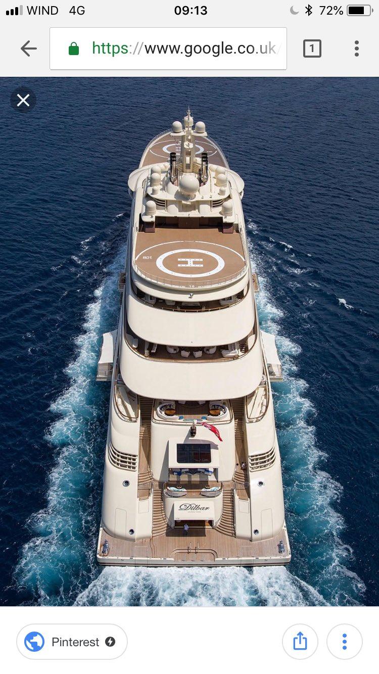 #Dilbar #Yacht  when you think you're doing ok, this rocks up!!! 😂🇬🇷💙😂🇬🇷😂 https://t.co/ebviTEujmF
