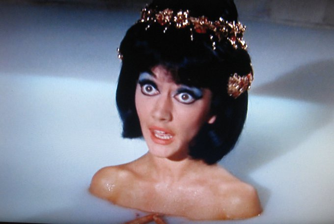 Happy Carry On Birthday to Amanda Barrie.