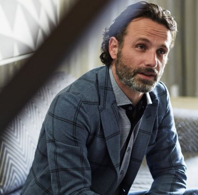 Happy Birthday to Andrew Lincoln, the only guy who ever made me question my sexuality
