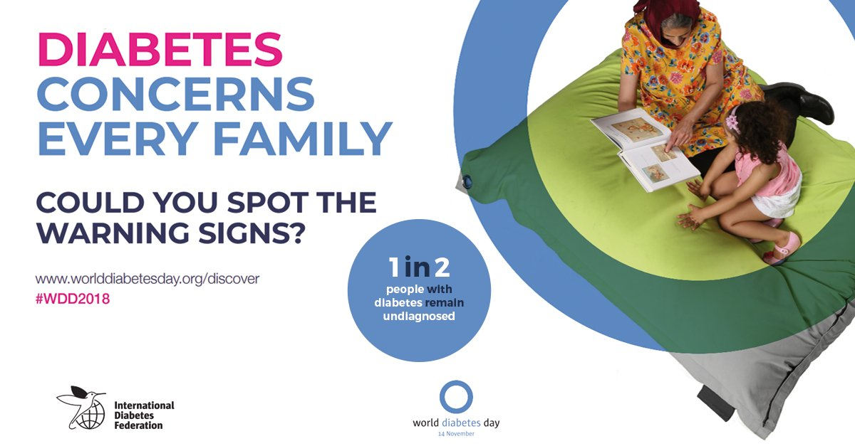 test Twitter Media - #WDD2018 focuses on the role of the family in managing and preventing #diabetes. Check out our resources and tips to help you show your support this November! https://t.co/TtCiiosIiE https://t.co/LqgHM6zkzC