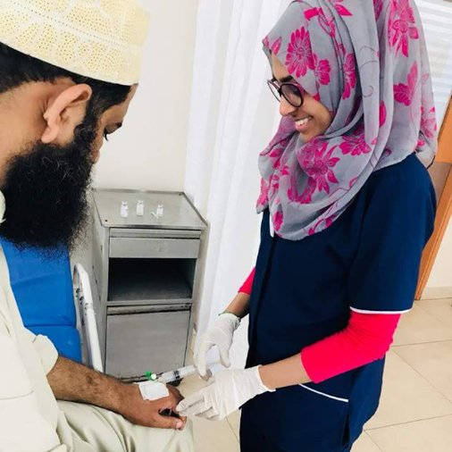 """test Twitter Media - """"Being a Lion has allowed me to give back to humanity."""" Lion Tabussum Hussein Maniji is a New Voice in Service - Lions who serve and help make women more visible in service. Who is a New Voice in Service in your Lions club? Share their story with the hashtag #NewVoicesService! https://t.co/omnR8xEcOl"""