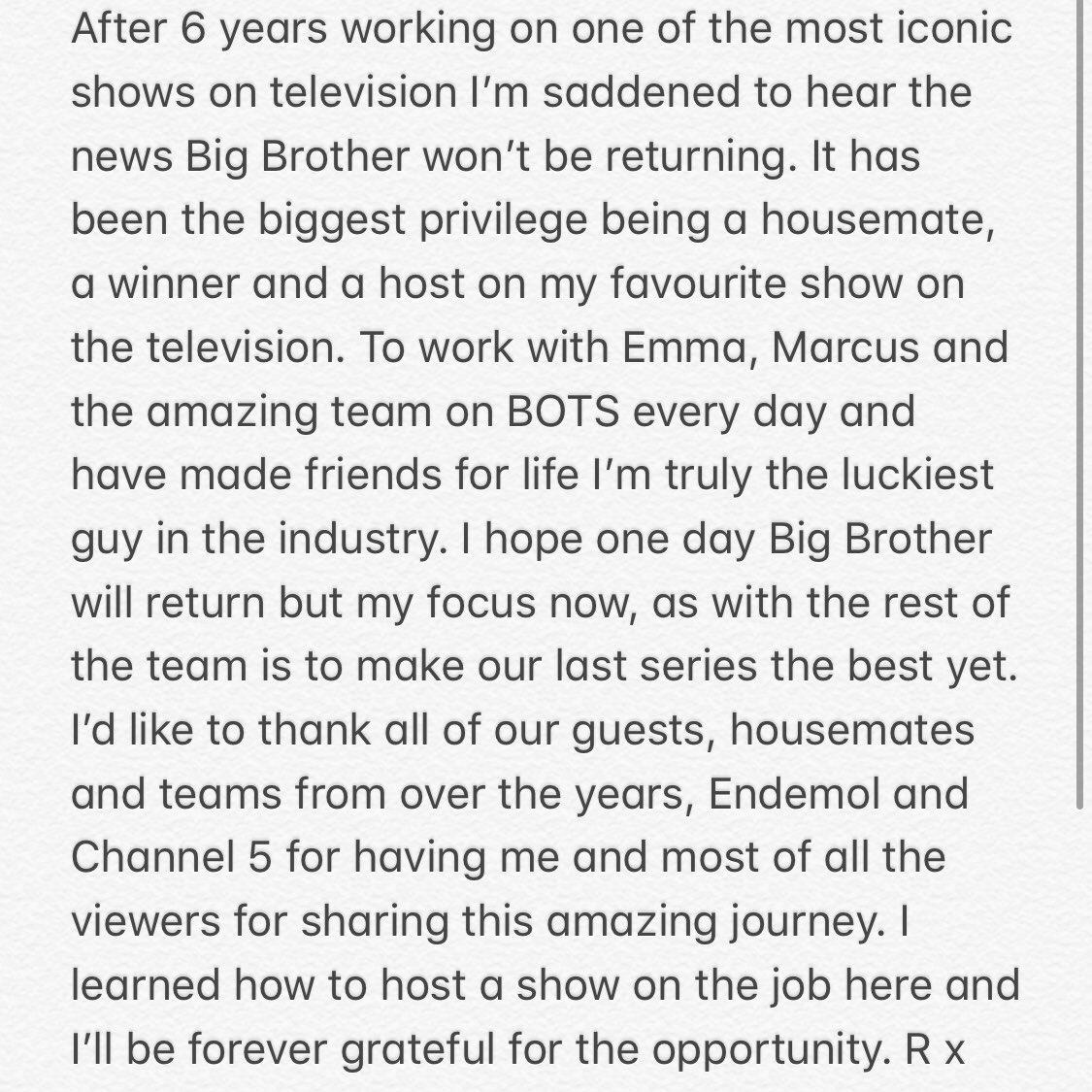 RT @Rylan: STATEMENT re @bbuk x https://t.co/cwRU6a0klY