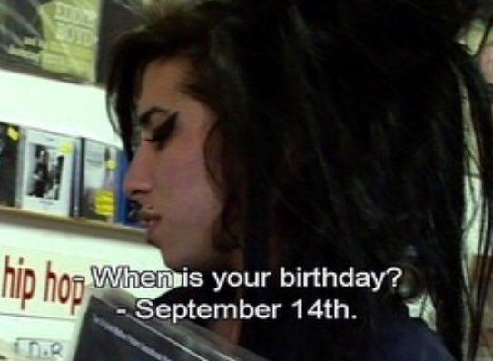 Happy birthday amy winehouse.