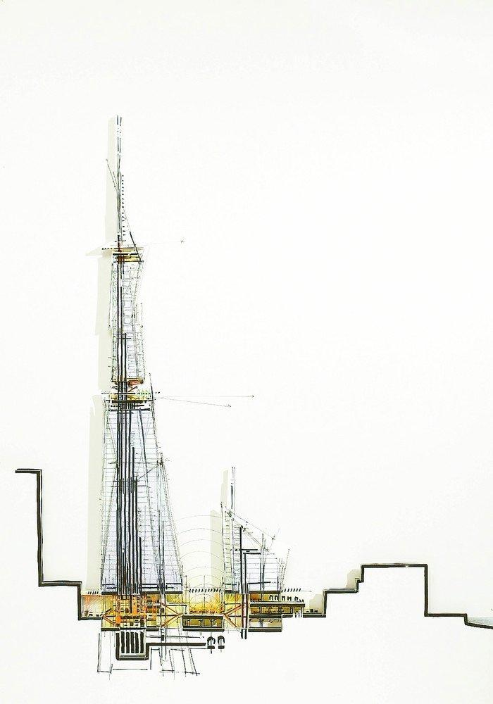 Happy birthday Auguri   (The Shard / Renzo Piano Building Workshop)